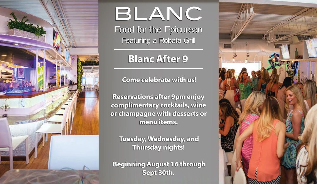 Blanc After 9